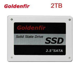 ■新品!!国内対応&90日保証■ SSD Goldenfir 2TB SATA3/6.0Gbps 2.5インチ 高速 NAND TLC 内蔵 デスクトップPC ノートパソコン DE004