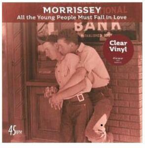 """新品英欧盤7""""/Morrisseyモリッシー 『All The Young People Must Fall In Love』tienne538351571 The Smiths ロンドン・ナイト 2018/4/28"""