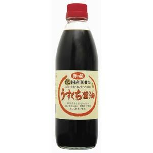 海の精 国産うすくち醤油 【500ml 海の精株式会社 0039】【配送ゆうパック】