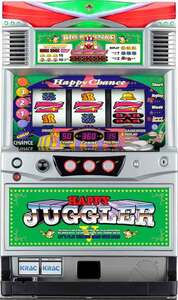 Real machine North Electronics Happy Juggler VII Coin Unwanted Must