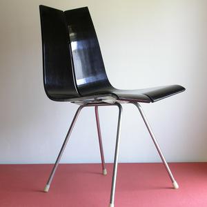 Hans Bellmann GA Chair 1955 year Switzerland design inspection /max billko ruby .jieknoll