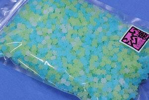 あじさい金平糖クリスタル(どっさり1kg)ツノくっきり小粒金平糖♪紫陽花色の小さなコンペイ…【送料込】