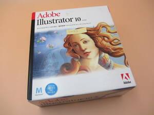 SW053●Adobe Illustrator 10/Macintosh/mac os/macos イラストレーター ソフト