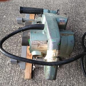 中古動作品 日立工機 ブレーキ付動線カッタ 溝切り PG46B 46mm 12A 100V 50/60Hz 電動工具
