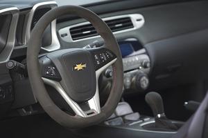 シボレー カマロ 2012~2015年 ZL1 ステアリング スエード Chevrolet Camaro