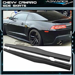 シボレー カマロ サイドステップ 2010~2015年 スポイラー エアロ Chevrolet Camaro