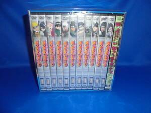 送料無料 新品未開封 DVD NARUTO-ナルト- DVD-BOX Ⅱ 始動!木ノ葉崩し 完全生産限定版 7610セット