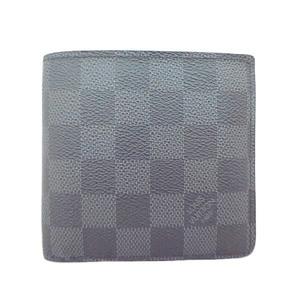 美品 LOUISVUITTON ルイヴィトン ダミエグラフィット マルコ 2つ折り財布 N62664
