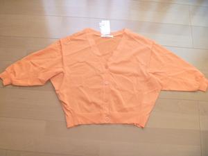 定価13000円ストロベリーフィールズオレンジカーディガン新品
