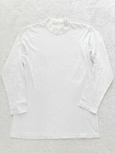 Yohji Yamamoto POUR HOMME ハイネックカットソー sizeM レタード ビッグシルエット ヨウジヤマモトプールオム Tシャツ ロンT 長袖