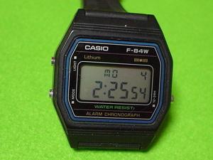 カシオ F-84W 腕時計 角型