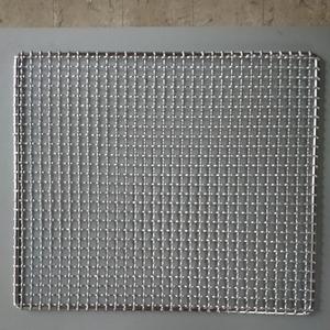 角網380×325バーベキュー網 焼肉 網 特大 クリンプ 焼き網 角型
