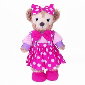 ダッフィー&シェリーメイコスチューム 洋服 ディズニーキャラクターミニー風衣装 Disner Bear シェリーメイ洋服43㎝用