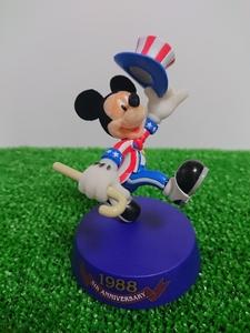 ディズニーリゾート 1988 5周年 東京ディズニーランド 20周年 アニバーサリー フィギュア ミッキーマウス 限定