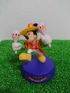 ディズニーリゾート 1991年 ミッキーマウスカーニバル 東京ディズニーランド 20周年 アニバーサリー フィギュア ミッキーマウス 限定