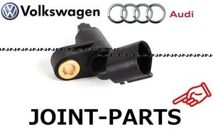【製品半年保証】 VW フロント 左側 スピードセンサー ABSセンサー ゴルフ3 ゴルフ4 パサート ポロ ルポ ボーラ ニュービートル 1J0927803
