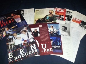Free★Queen★Paul.Rodgers★ポールロジャース雑誌インタビュー記事切り抜き集★クイーン