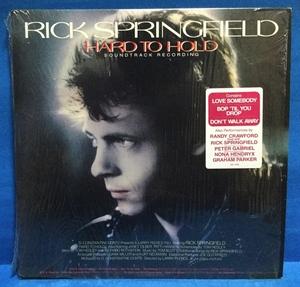 LP 洋楽 Rick Springfield / Hard To Hold 米盤 b
