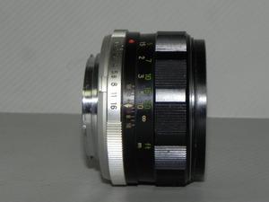 Minolta MC ROKKOR-PF 58mm/F 1.4 レンズ