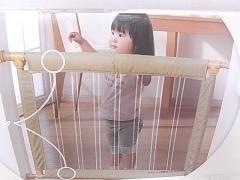 ベビーゲート 日本育児 ふわふわ とおせんぼ S