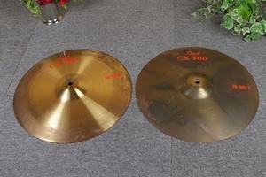 パール シンバル CX-300 ハイハットシンバル HI-HAT/T HI-HAT/B 約14インチ 35.5cm Pearl 楽器