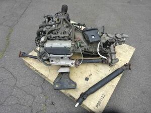 純正 DA64W エブリィ ワゴン 4WD K6A AT (NA) エンジン オートマミッション ECU 33920-68H91 ペラシャ キーレスおまけ 走行約92000㎞外し