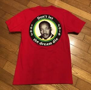 即決!18ss Supreme Dream Tee Sサイズ RED 赤 キング牧師 ドリームTシャツ
