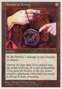 017268-002 5E/5ED クルーグの護符/Amulet of Kroog 英4枚