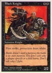 017205-002 5E/5ED 黒騎士/Black Knight 英1枚