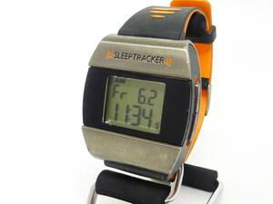 ◆スリープトラッカー デジタル腕時計 中古