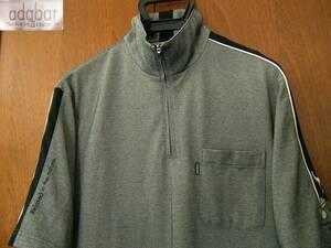 アダバット adabat 半袖 ハーフジップシャツ 半袖シャツ 速乾シャツ