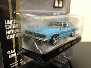 """グリーンライト 1/64 1977 ポンティアック ルマン Greenlight Smokey & The Bandit II (1980) - 1977 Pontiac LeMans """"Wedding Car"""""""