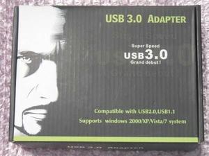 未使用 HDDコンパクトアダプター USB3.0 変換 SATA サンコー/HDADU301 電源付