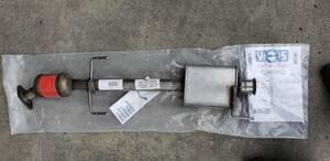 new goods! Alpha Romeo 916 series TS for GTV Spider middle period center muffler catalyst no. 2 catalyzer 60667547