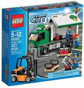 凸凸凸 レゴ LEGO ☆ 街・シティ City ☆ 60020 カーゴトラック・貨物トラック Cargo Truck ☆ 新品・未開封 ☆ 2013製品・現絶版 凸凸凸