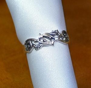 SR1682 Ring Silver 925 Ring Ring 8 Gakajo Watermark Free Shipping