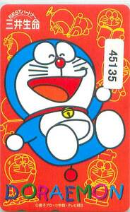45135★ドラえもん 三井生命 テレカ★の商品画像