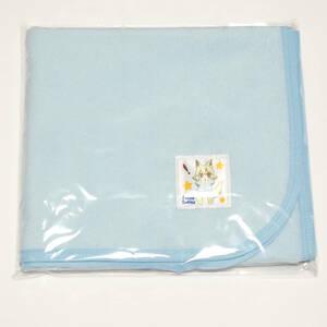 【新品】大人用 防水おむつ替えシート おねしょシーツにも ブルー パイル生地
