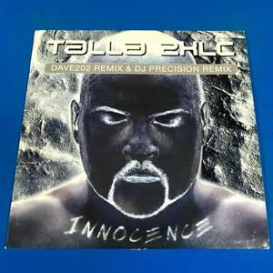 【TRANCE】TALLA 2XLC//INNOCENCE(DAVE202 REMIX & DJ PRECISION REMIX)//CLUB CULTURE//12INCH VINYL/GERMANY