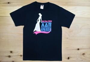 00'sUSA古着 ΑΔΠ Alpha Delta Pi ソロリティ Tシャツ sizeS 黒 ウエスレヤン大学 カレッジ フラタニティ アメリカ アメカジ
