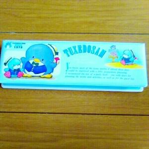 レア 1979 1984 1989 新品 デッドストック タキシードサム サンリオ 筆箱 ペンケース 昭和レトロ 昭和 レトロ ファンシー 雑貨 ふでばこ