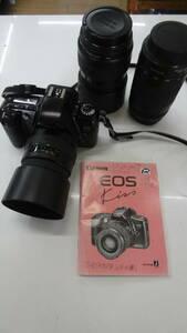 Canon EOS Kiss panorama フィルムカメラ SIGMA レンズ 70-210mm 1:4-5.6 35-80mm 1:4-5.6 ボディ レンズ