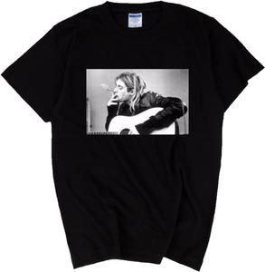 カートコバーン Nirvana ニルヴァーナ ニルバーナ ロック バンド Tシャツ ギター 各 サイズあり 洋楽 レジェンド 送料無料