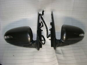 Daihatsu Sonica L405S L415S original option limited goods carbon style door mirror left right side set