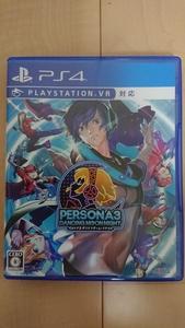 中古 PS4 ペルソナ3ダンシング・ムーンナイト