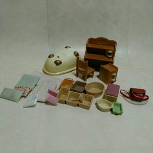 シルバニアファミリー 家具 小物 まとめてセット ジャンク扱い エポック社