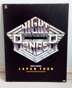VHD ナイトレンジャー NIGHT RENGER JAPAN TOUR 日本初公演 1983年12月13日 新宿厚生年金会館大ホール 90分◆ビデオディスク◆