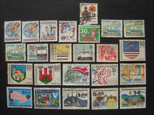 チェコ切手 消印