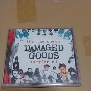 CD V.A DAMAGED GOODS CHEAP CD SAMPLER THINGY DAMGOOD 144 CD