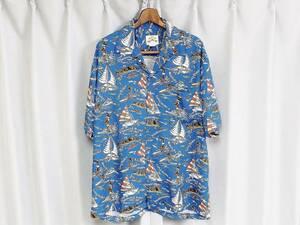 ◆Pineapple Juice パイナップルジュース レーヨン アロハシャツ 80s 90s デッドストック USA アメリカ ハワイ製 ヴィンテージ ハワイアン